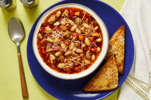 Chicken Sausage & White Bean Soup image