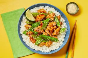 Chicken & Snow Pea Stir-Fry image