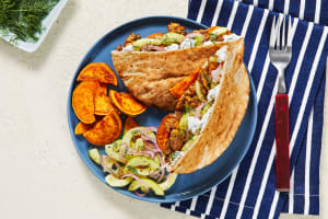 Chicken Souvlaki Pita Pockets image