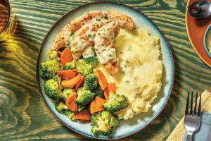 Chicken Tenderloins & Cheesy Garlic Sauce image
