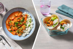 Chicken Tikka Curry and Cardamom Rice image