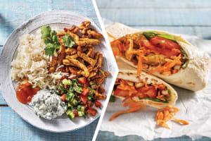 Chicken Tikka with Garlic Rice for Dinner image