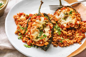 Turkey Chile Rellenos image