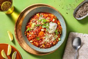 Hearty Chipotle Pepper Pork Chili image