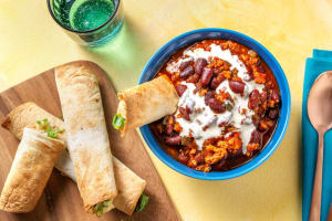 Mexican-Inspired Pork Chili Bowl image