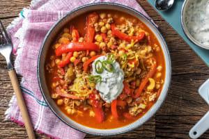 Chili con Carne mit Chorizo und Kichererbsen image