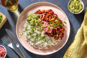 Chili sin carne & guacamole maison image