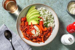 Chili sin Carne mit Avocado image