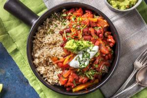 Chilli sin carne et riz cargo image