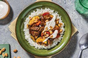 Chinese Hoisin Beef Bowl image