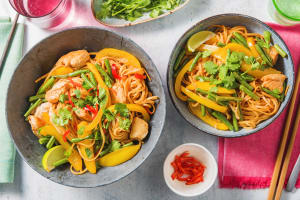 Chinese-Style Chicken Noodles image