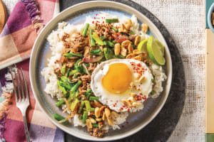 Sichuan Pork & Garlic-Ginger Rice Bowl image