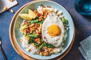 Chinese Pork & Ginger-Garlic Rice Bowl image