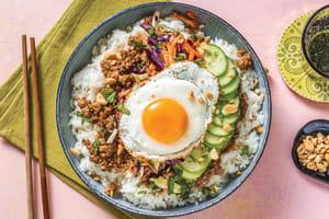 Chinese Caramelised Pork Bowl image