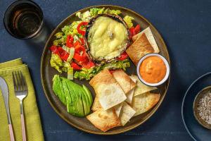 Chipotle-Bowl mit gratiniertem Portobello image