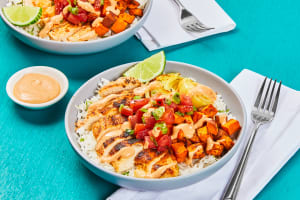 Chipotle Chicken & Rice Bowls image