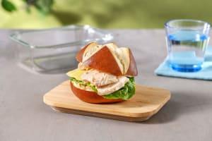 Chipotle Chicken Mayo Pretzel Bun image