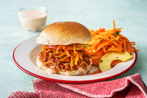 Chipotle Pulled Chicken Sandwiches image