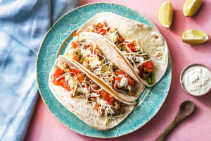 Chopped Chicken Thigh Tacos image