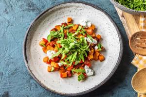 Chorizo & Sweet Potato Tray Bake image