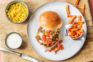 Chunky Funky Veggie Burgers image