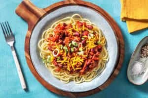 Cincinnati Chili Spaghetti image