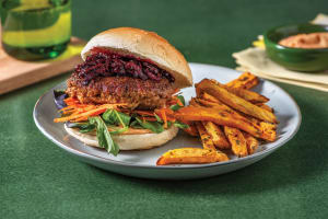 Classic Beef & Beetroot Relish Burger image