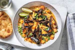 Coconut Curry Mussels image