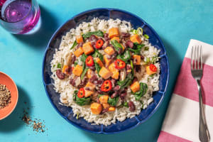 Coconut Kidney Bean Curry image