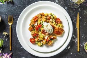 Couscous perlé aux cuisses de poulet confites & abricots secs image