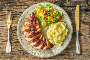 Cranberry-Drizzled Duck Breasts image