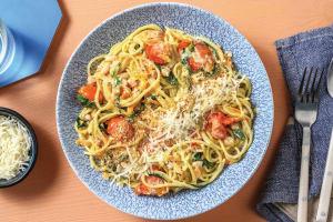 Quick Bacon & Cherry Tomato Spaghetti image