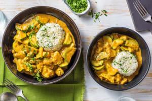 Creamy Chicken Korma image