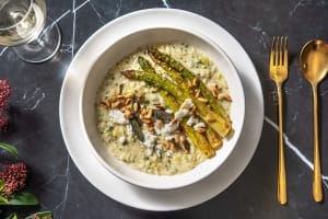 Creamy Goat's Cheese Risotto image