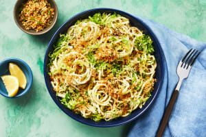 Spaghetti with Brussels Sprouts & Parm image