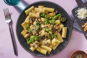 Creamy Truffle and Mushroom Rigatoni image