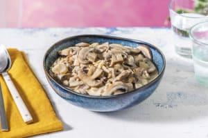 Creamy Truffle Mushrooms image