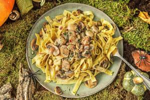 Creepy Crawly Tagliatelle Pasta image