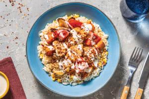 Creole Chicken & Roast Veggies image