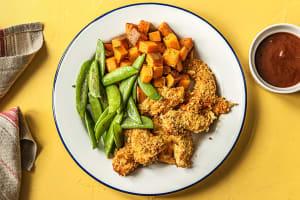 Crispy Barbecue Chicken Tenders image