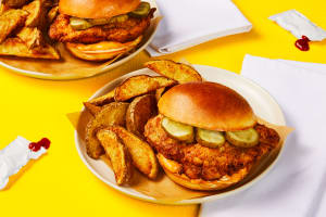 Crispy Cajun Chicken Sandwiches image