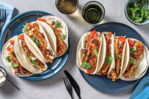 Southern Crumbed Chicken Tacos image
