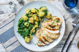 Crispy Chicken with Chilli & Chive Sauce image
