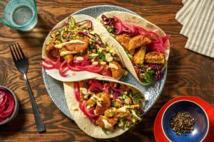 Crispy Falafel Tacos image