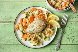 Mediterranean Skillet Chicken image