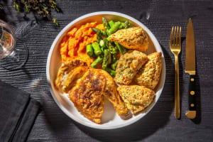 Crispy Skinned Chicken and Biscuits image