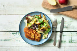 Crunchy Pork Schnitzel image