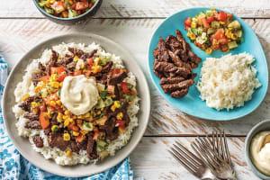Cuban Beef & Rice Bowl image