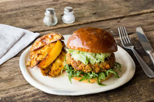 Curried Lentil Burgers image