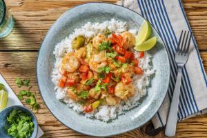 Curry de crevettes au vadouvan image